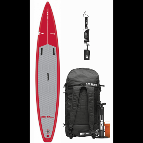 SIC Air Glide X Pro Touring 12'6 x 26 (Fusion) Race oppustelig sup