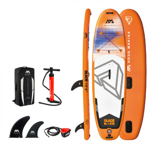 Aqua Marina Blade 10'6 2021 Oppustelig SUP (Windsurf kompertibel) - Board only
